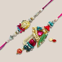 Fantastic set of Bhaiya Bhabhi Rakhi