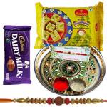 Admirable Raksha Bandhan Delight Gift Hamper
