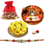 Smart-Looking Rakhi Special Thali of Healthiness