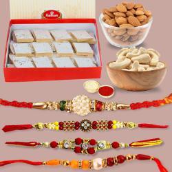 Wholesome Raksha Bandhan Gift Combo