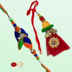 A Very Attractive Bhaiya Bhabhi Rakhi Set