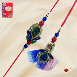 Attractive Bhaiya Bhabhi Rakhi Set