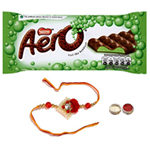 Fetching Combo Of Rakhi N Aero Peppermint