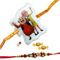 Thoughtful Rakhi Couple Set