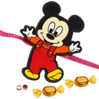 Captivating Mickey Mouse Rakhi
