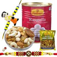 Impressive Festive Fiesta Rakhi Hamper Collection