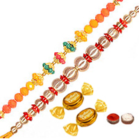 2 Elegant Thread Rakhi