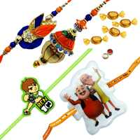 Sightly Bhaiya Bhabhi Rakhi and Kids Rakhi