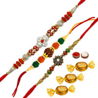 Set of 3 Rakhi