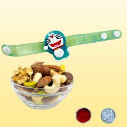 Trendy Kids Rakhi with Dry Fruits Assortments