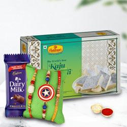 Exclusive Bhaiya Rakhi n Kids Rakhi with Sweets n Chocolates