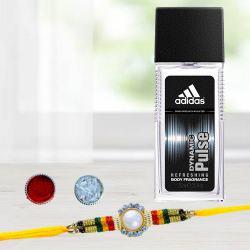 Outstanding Rakhi with Seductive Men Perfume