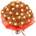 Beautiful Bouquet of 24 Pcs. Ferrero Roacher