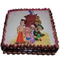Online Chota Bheem Chocolate Cake