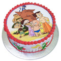 Marvel-of-Indulgence Chota Bheem Cake