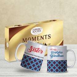 Cool Set of 2 Sister Coffee Mug with Ferrero Rocher Moments