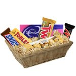 Multiple mouth-watering chocolate hamper