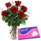 Roses with Cadbury s Chocolates