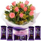 Online Flowers and Chocolate Combo