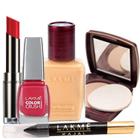 Send Compact, Nail Polish, Lipstick, Foundation and Kajal From Lakme