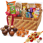 Genial Celebrations Gourmet Combo with One Rakhi and Roli Tilak Chawal