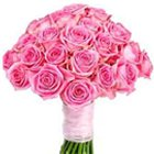 Charming bunch of 30 pretty Pink Roses