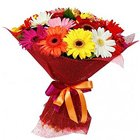 Aromatic Bunch of Mixed Gerberas