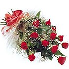 Send 12 Red Roses Bouquet to India