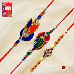 Pretty Rakhi Set