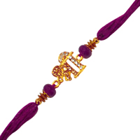 Eye-Catching Gift of One Designer Shree Rakhi