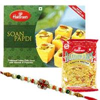 Stunning Rakhi N Gourmets Combo
