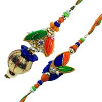 Enchanting Bhaiya Bhabhi Rakhi Set
