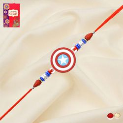Exquisite Captain America Rakhi