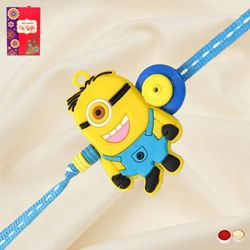 Lovely Kids Minion Rakhi