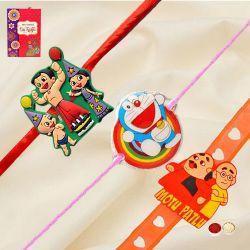 Marvelous Chota Bheem, Doraemon n Motu Patlu Rakhi
