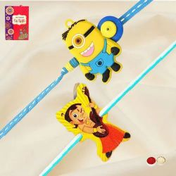 Amazing Chota Bheem and Minion Rakhi