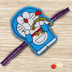 Marvelous Doraemon Rakhi for Kids