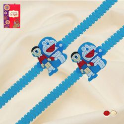 Wonderful Doraemon Rakhi Set for Kids
