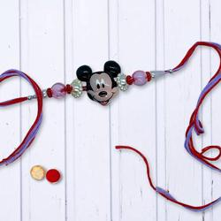 Marvellous Set of Mickey Mouse Rakhi