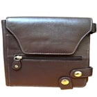 Shop for Brown Leather Purse for Ladies with Security Clutches