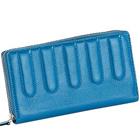 Order Leather Ladies Wallet in Sky Blue