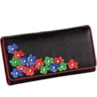 Shop for Leather Flower Design Wallet from Leather Talks