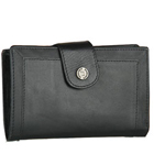 Exquisite Black Leather Wallet for Women from Titan Fastrack