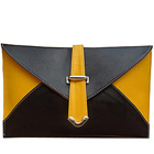 Order Spice Art Yellow and Black Ladies Clutch