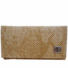 Embellished-Styled Spice Art Ladies Beige Purse