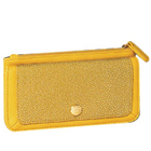 Hypnotic Signature Spice Modern Yellow Wallet Brought to You by Avon