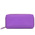 Send Purple Coloured Leather Ladies Wallet