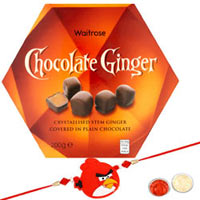 Rocking 1 Kid Rakhi with Waitrose Chocolate Ginger