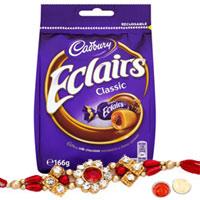 Cool 1 Bhaiya Special Rakhi with Cadbury Eclairs