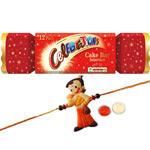 Fabulous One Kid Rakhi with Celebration Choco Pack 98 g.